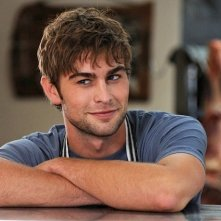 Chace Crawford è il macellaio Cole in Peace, Love, & Misunderstanding