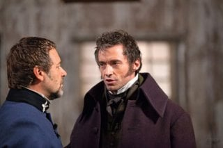 Russell Crowe e Hugh Jackman, nemici a confronto in Les Misérables