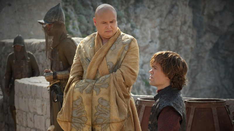 Game of Thrones: Peter Dinklage e Conleth Hill nell'episodio The Prince of Winterfell