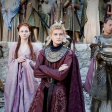 Game of Thrones: Sophie Turner e Jack Gleeson nell'episodio The Old Gods and the New