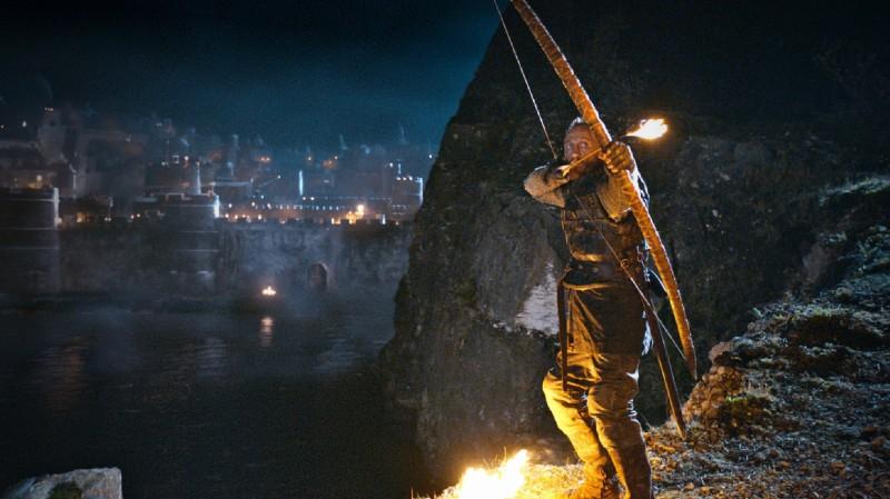 Game of Thrones: una scena dell'episodio The Blackwater