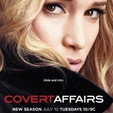 Covert Affairs: un poster della stagione 3