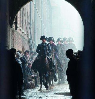 Les Misérables: una suggestiva scena a cavallo del film