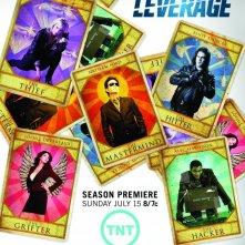 Leverage: un poster della stagione 5