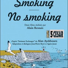Smoking/No Smoking: la locandina del film