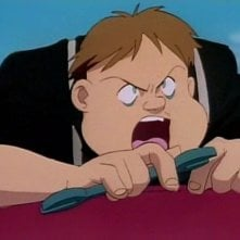 Hanson in una scena dell'episodio Addio, Red Noah della serie-tv Il mistero della pietra azzurra