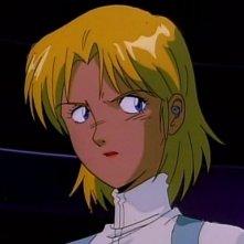 Il comandante Electra in una scena dell'episodio Eredita le stelle, dell'anime Nadia