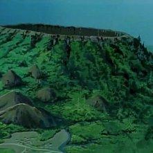 Una scena dell'episodio L'isola di Marie della serie-tv Nadia - Il mistero della pietra azzurra