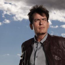 Anger Management: Charlie Sheen in una foto promozionale della serie