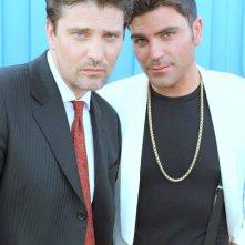 Il ragioniere della mafia. In foto Lorenzo Flaherty, Salvatore Ruocco sul set del film