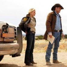 Longmire: Katee Sackhoff e Robert Taylor nel pilot della serie