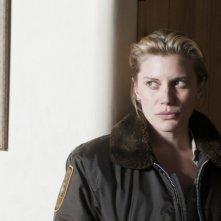 Longmire: Katee Sackhoff in una scena dell'episodio A Damn Shame