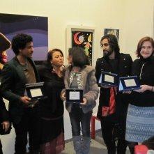 Mohamed Zouaoui, Deborah Young, Adriana Chiesa e Fariborz Kamkari