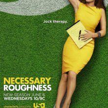 Necessary Roughness: un poster della stagione 2