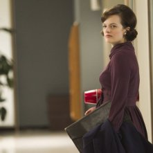 Elisabeth Moss nell'episodio The Other Woman della quinta stagione di Mad Men