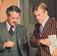 Robert Redford ne La Stangata accanto a Paul Newman