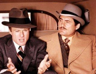 Robert Redford ne La Stangata con Robert Shaw