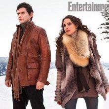 Christian Camargo e Mia Maestro in una scena di Twilight Saga: Breaking Dawn - Parte 2