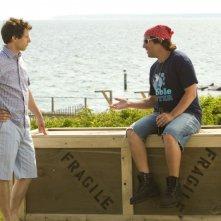 That's my Boy: Adam Sandler, Andy Samberg in una scena della commedia