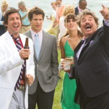 That's my Boy: Adam Sandler, Andy Samberg, Leighton Meester e Tony Orlando in una scena