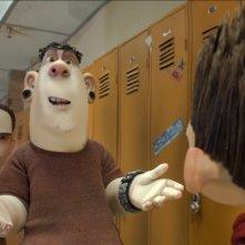 ParaNorman: Norman a scuola parla con i suoi compagni in una scena del film