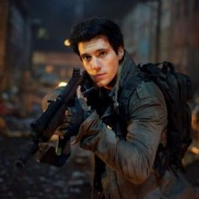 Falling Skies: Drew Roy in una scena dell'episodio Shall We Gather at the River