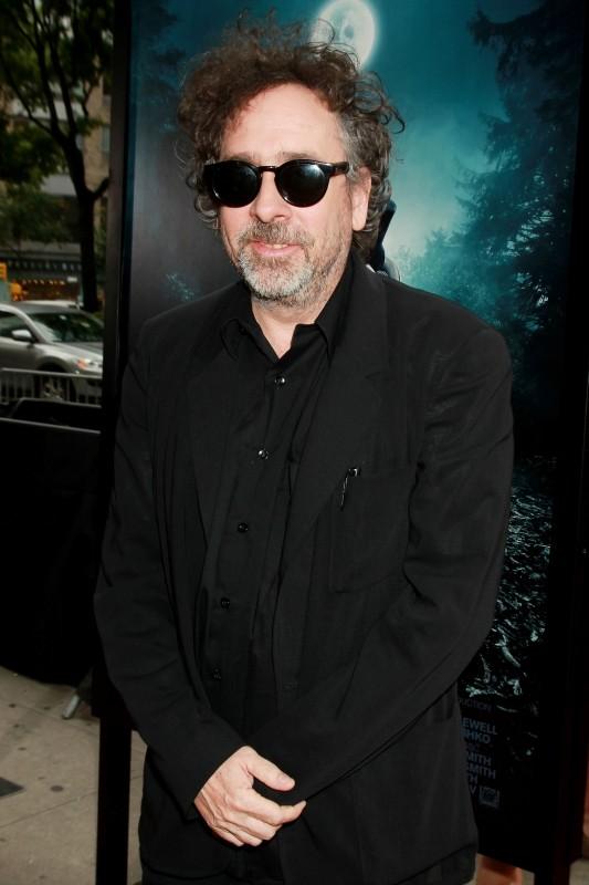 La leggenda del cacciatore di vampiri: il produttore del film Tim Burton a New York City per la premiere mondiale del film