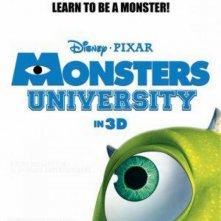 Monsters University: la locandina del nuovo mostruoso film Disney-Pixar