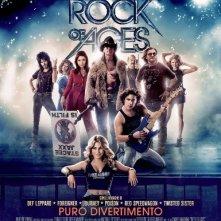 Rock of Ages: locandina italiana