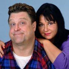 Roseanne Barr e John Goodman in Pappa e Ciccia