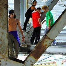 Freerunner - Corri o Muori: il gruppo di runners protagonisti del film