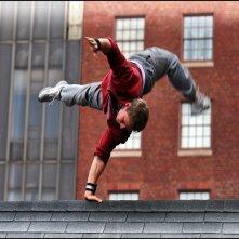 Freerunner - Corri o Muori: un'acrobatica scena del film