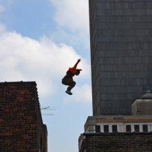 Freerunner - Corri o Muori: una suggestiva scena di 'volo' del film