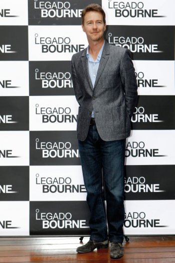 The Bourne Legacy: Edward Norton in Brasile per la premiere del film