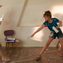 Travolti dalla cicogna: Louise Bourgoin e Pio Marmaï in una divertente scena