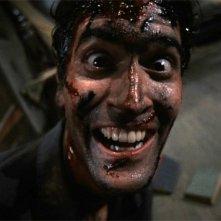 Bruce Campbell ne La casa (Evil Dead, 1981)