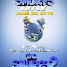 I puffi 2 (The SMurfs 2): primo teaser poster