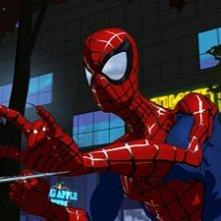 Spider-Man: The New Animated Series: una scena della serie animata