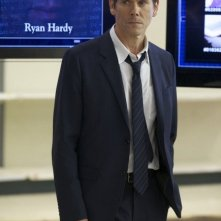 The Following: Kevin Bacon in una scena della serie
