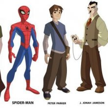 The Spectacular Spider-Man: il character design dei personaggi
