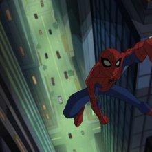 The Spectacular Spider-Man: un'immagine della serie animata