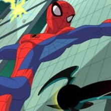 The Spectacular Spider-Man: un'immagine tratta dalla serie animata