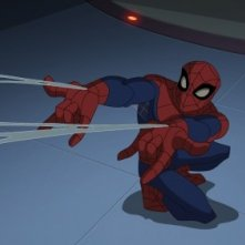 The Spectacular Spider-Man: una scena della serie animata
