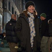 Cercasi amore per la fine del mondo: la regista e sceneggiatrice del film Lorene Scafaria sul set
