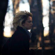 El Campo: la co-protagonista del film Dolores Fonzi in una scena del film
