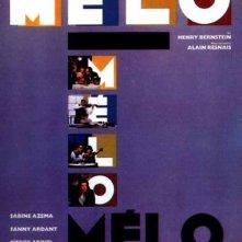 Melò: la locandina del film