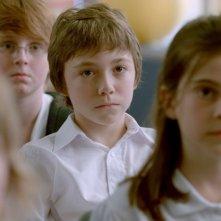 Monsieur Lazhar: il piccolo Émilien Néron in una scena del film insieme ai compagni di scuola