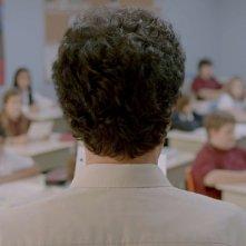 Monsieur Lazhar: un'immagine di spalle di Mohamed Fellag tratta dal film