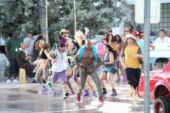 Step Up Revolution: una scena di gruppo tratta dal film