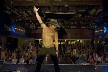 Matthew McConaughey in Magic Mike, durante una performance